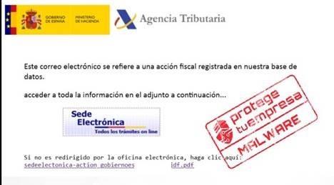 PHISHING SUPLANTANDO A LA AGENCIA TRIBUTARIA CON MOTIVO DE LA CAMPAÑA DE LA RENTA.